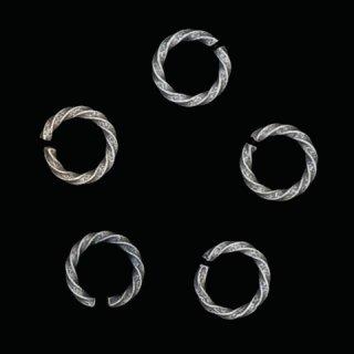 ビンテージダークシルバーリングパーツ05(オープン)