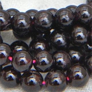 ガーネットスムースラウンド約5-6-6mm