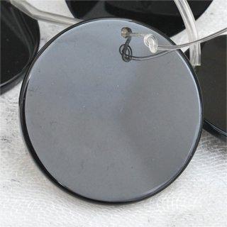 ブラックオニキスフラットサークルディスク約35-35-3mm
