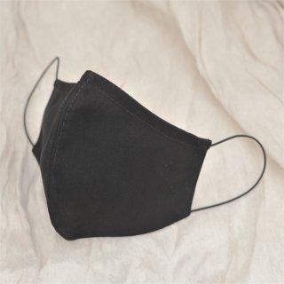 チェコ製コットンマスク ブラック