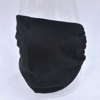 ウクライナ産 コットンマスク ブラック