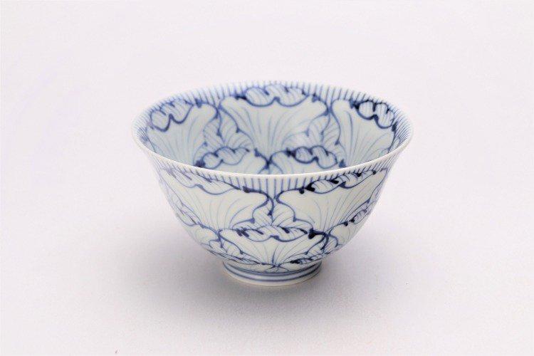そうた窯 染付花弁紋 ASA飯碗 画像メイン