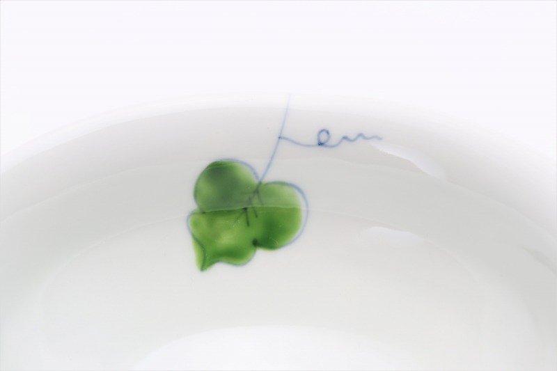 一峰窯 彩りぶどう ひねり飯碗(小) 画像サブ3
