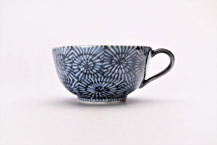 そうた窯 染付蛸唐草 スープカップ(青) 画像サブ1
