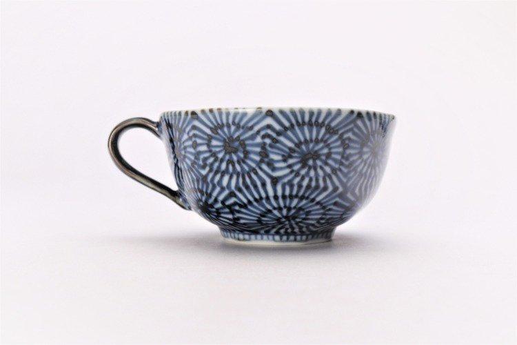 そうた窯 染付蛸唐草 スープカップ(青) 画像サブ2