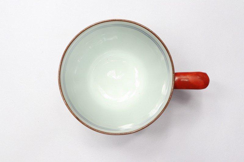 一夢窯 祥瑞 マグカップ(赤) 画像サブ2