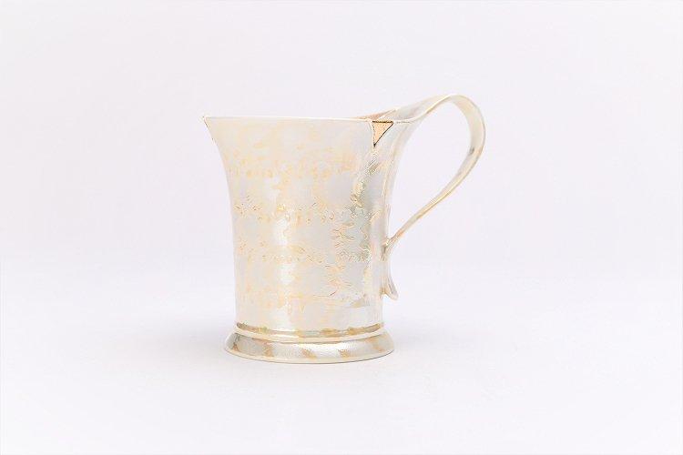 楽々シリーズ ラスターゴールド 流転マグカップ (化粧箱入り) 画像サブ1