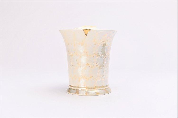 楽々シリーズ ラスターゴールド 流転マグカップ (化粧箱入り) 画像サブ3