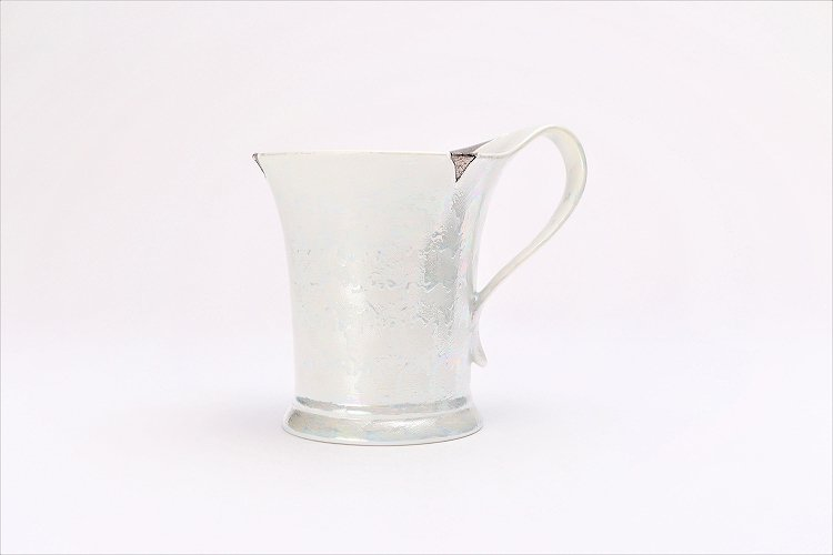 楽々シリーズ ラスターシルバー 流転マグカップ (化粧箱入り) 画像サブ1