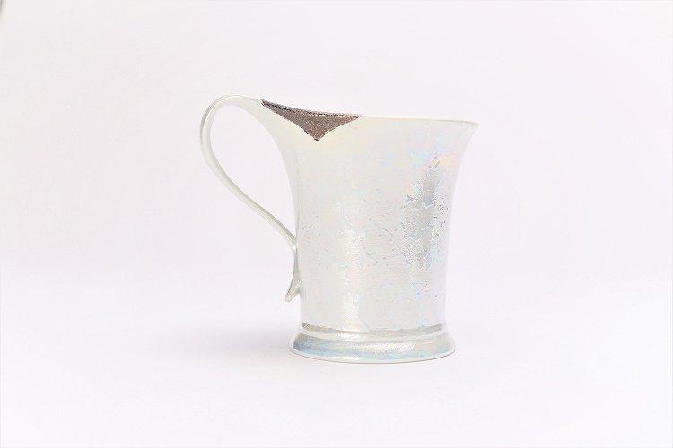 楽々シリーズ ラスターシルバー 流転マグカップ (化粧箱入り) 画像サブ2