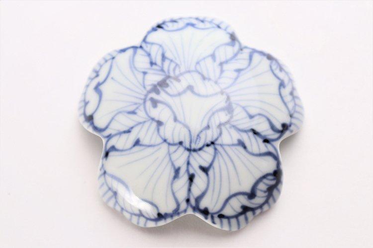 楽々シリーズ 染付花弁紋 桜型排水口カバー 画像サブ3