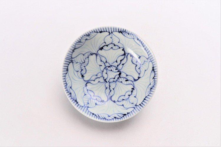 染付花弁紋 4寸小鉢 画像サブ2