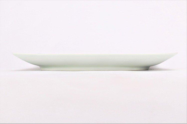 そうた窯 染付桜唐草 7.5寸正角皿 画像サブ1