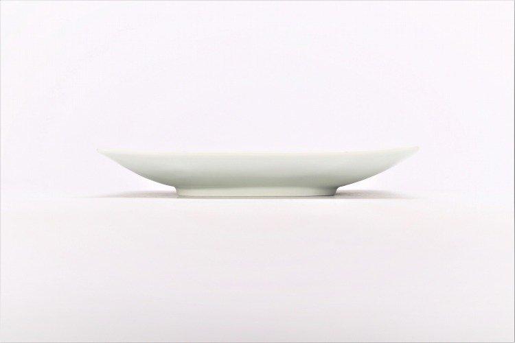 染付桜唐草 正角皿 画像サブ1