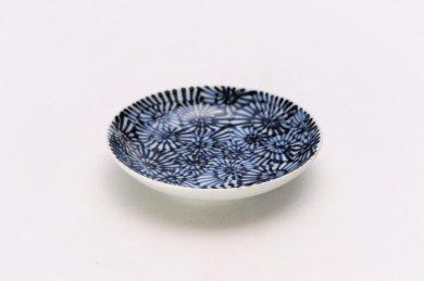 そうた窯 染付蛸唐草 3.5寸多用皿