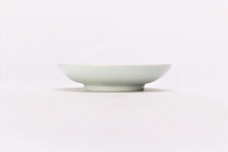 そうた窯 染付濃十草 3.5寸多用皿 画像サブ1