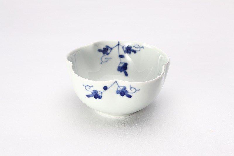 そうた窯 染付陶花 花型小付 画像メイン
