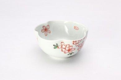 錦桜 花型小付