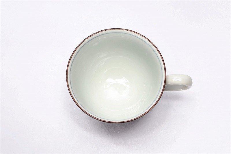 三宅製陶所 赤ダミアヤメ コーヒーC/S 画像サブ4