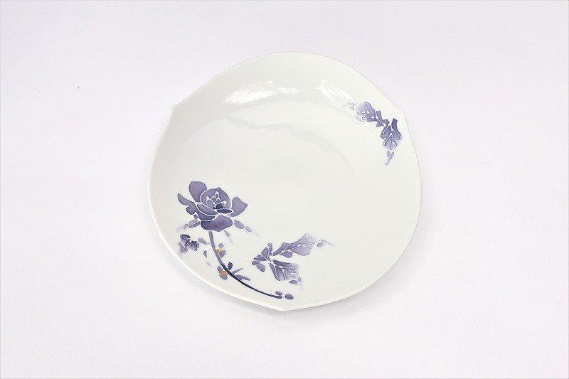 文山窯 バラ(紫) 輪花コーヒーC/S 画像サブ5