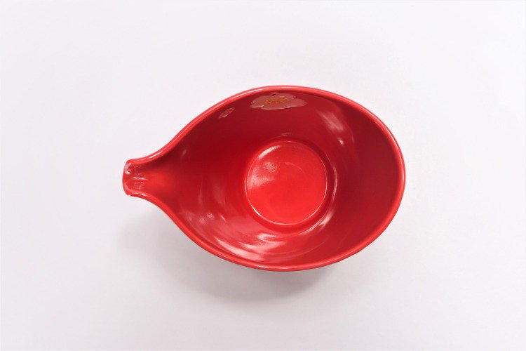 文山窯 赤釉花 片手酒器セット 画像サブ7