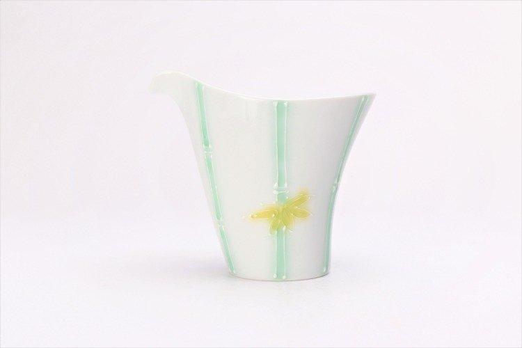 文山製陶 白釉竹 片手酒器 画像サブ1