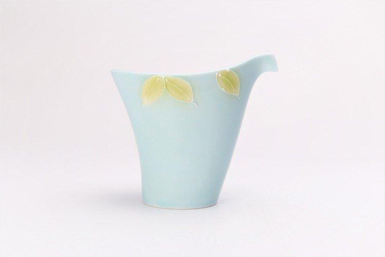 文山製陶 青磁果実 片手酒器 画像サブ2