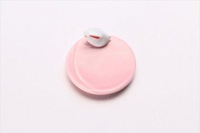 丸うさぎ 箸置 ピンク
