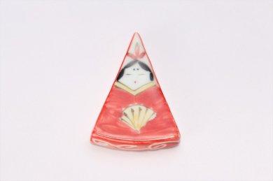 三角おひな様 箸置