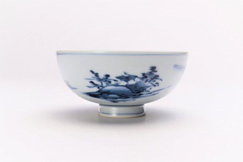 亮秀窯古代山水 組飯碗 画像サブ3