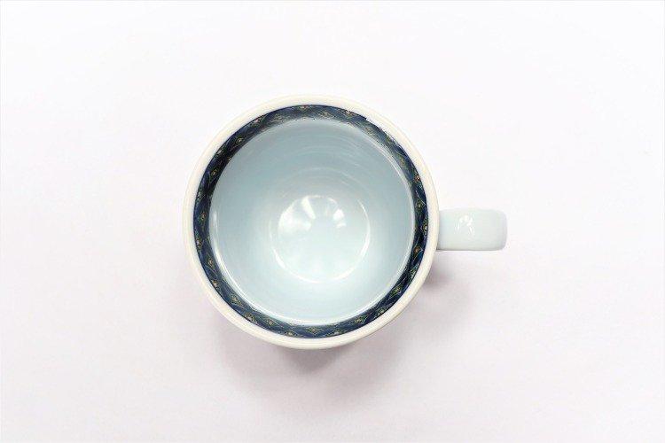 亮秀窯 古伊万里七宝 マグカップ 画像サブ3