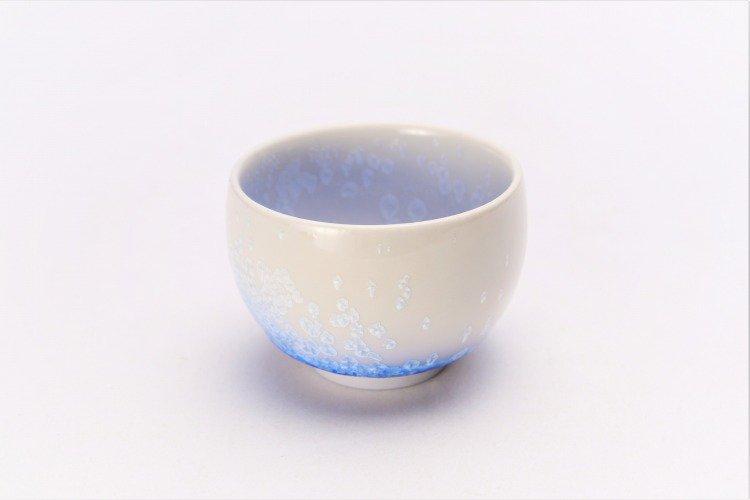 藍染水滴 丸ぐい呑(木箱付) 画像サブ1