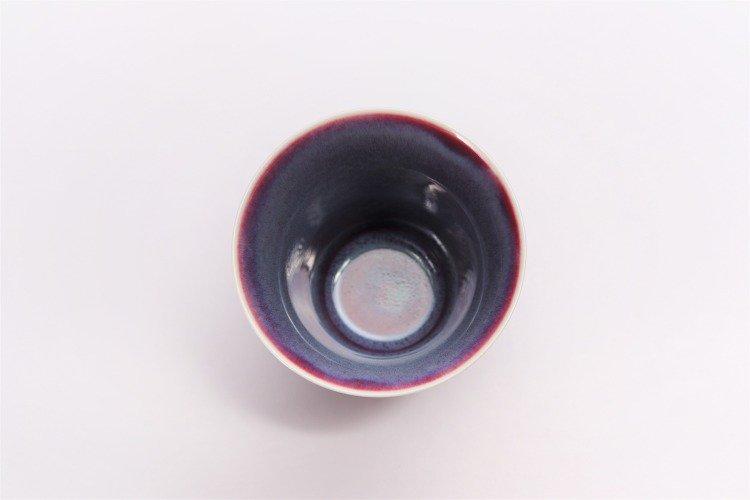真右ェ門窯 彩雲 段付酒杯(木箱付) 画像サブ4