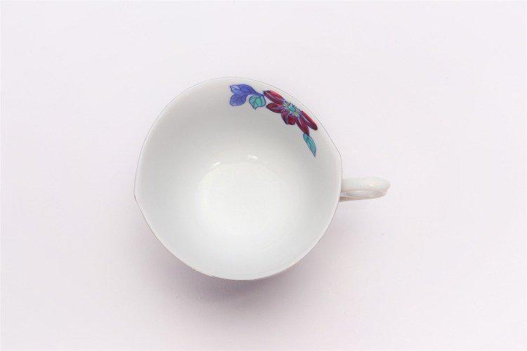 金龍窯 プラチナ鉄仙花 コーヒー碗(木箱付) 画像サブ6