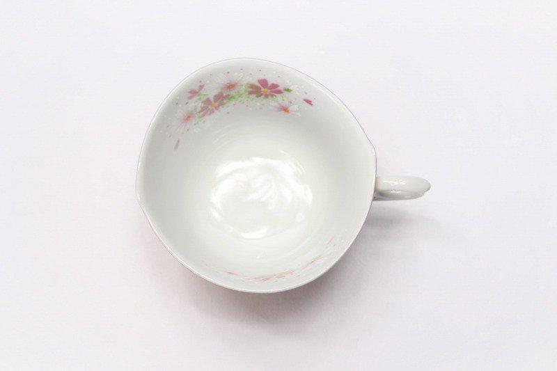 金龍窯 金彩コスモス コーヒー碗(木箱付) 画像サブ5