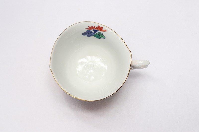 金龍窯 金彩菊 コーヒー碗(木箱付) 画像サブ5