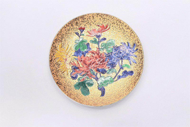 金龍窯 金彩菊 コーヒー碗(木箱付) 画像サブ7