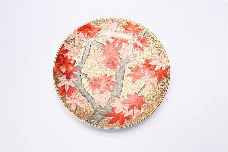 金龍窯 金彩紅葉 コーヒー碗(木箱付) 画像サブ7