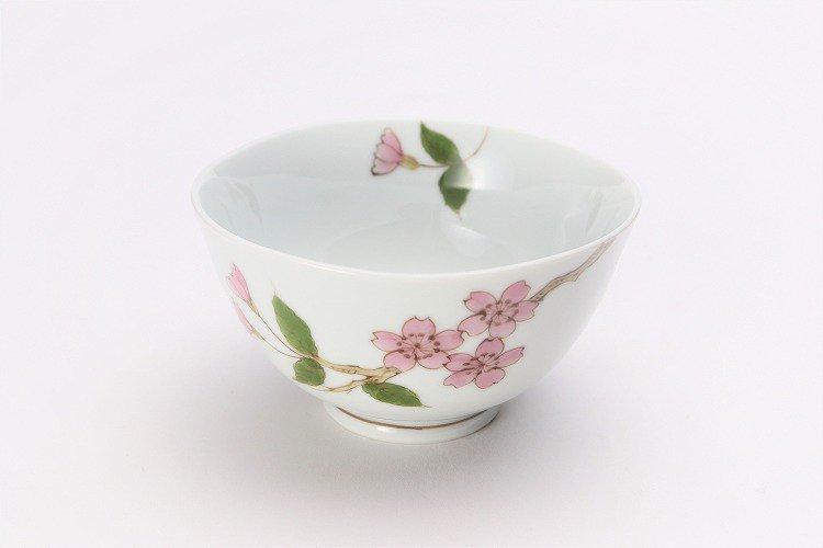 誕生花シリーズ 桜 茶碗 (4月誕生花) 画像メイン