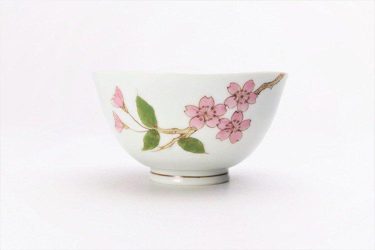 誕生花シリーズ 桜 茶碗 (4月誕生花) 画像サブ1