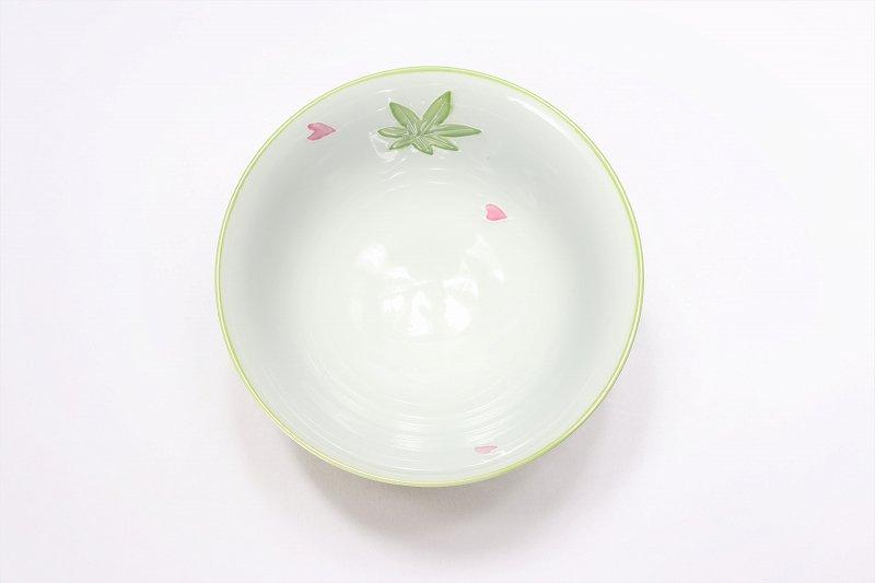楽々シリーズ 春秋(緑・ピンク) ペア茶碗セット (化粧箱入り) 画像サブ5