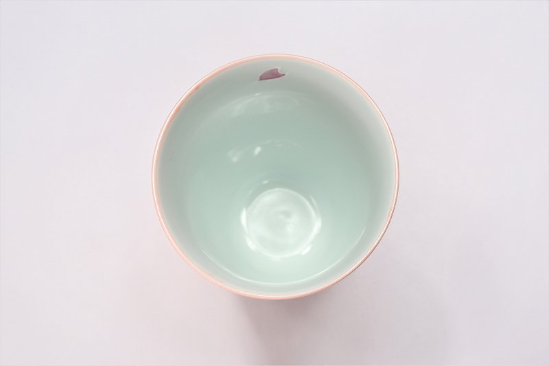 楽々シリーズ 春秋(緑・ピンク) ペアフリーカップセット (化粧箱入り) 画像サブ6