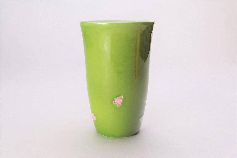楽々シリーズ 緑春秋 茶碗・フリーカップセット (化粧箱入り) 画像サブ5