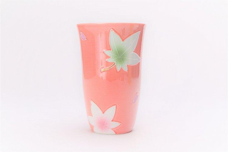 楽々シリーズ ピンク春秋 フリーカップ (化粧箱入り) 画像サブ1