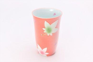 楽々シリーズ ピンク春秋 フリーカップ (化粧箱入り)