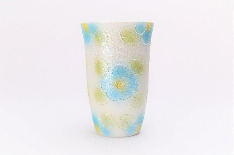 楽々シリーズ ラスター山茶花 ペアフリーカップ (化粧箱入り) 画像サブ2