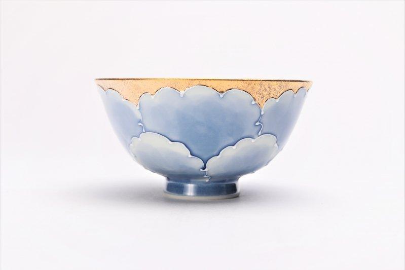 楽々シリーズ 金牡丹 茶碗・フリーカップセット (化粧箱入り) 画像サブ2