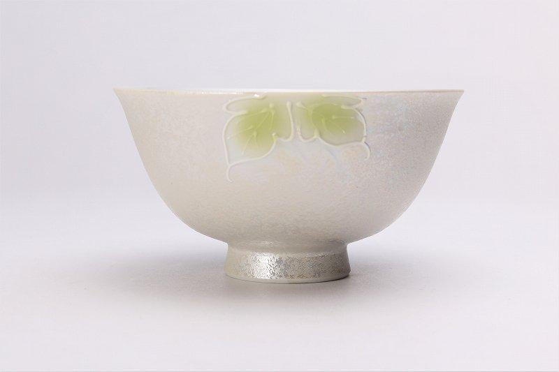 楽々シリーズ 青牡丹パールラスター 茶碗(大) (化粧箱入り) 画像サブ2