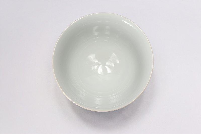 楽々シリーズ 青牡丹パールラスター 茶碗(大) (化粧箱入り) 画像サブ3