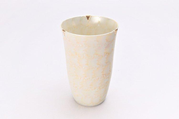 楽々シリーズ ラスターゴールド・シルバー ペアフリーカップ (化粧箱入り) 画像サブ1